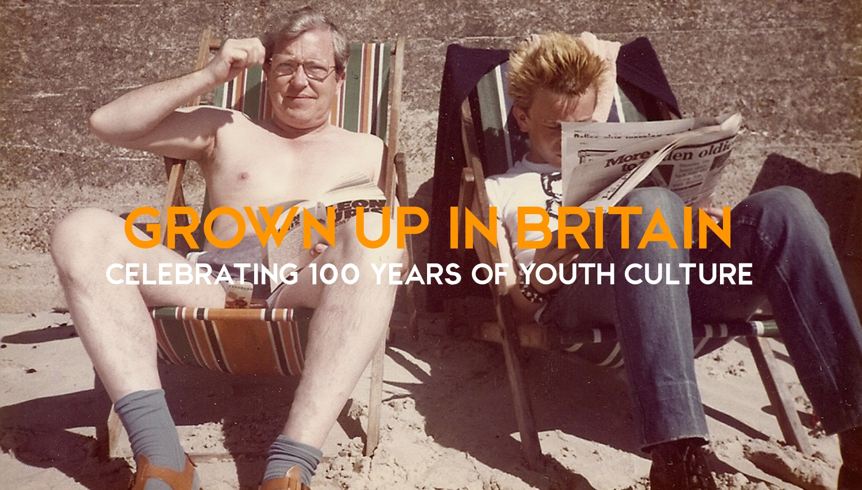 Grown Up In Britain: Celebrating 100 Years of Youth Culture from Mods and Rockers, to Punk, Hip Hop, Hippies, Rave and Grime