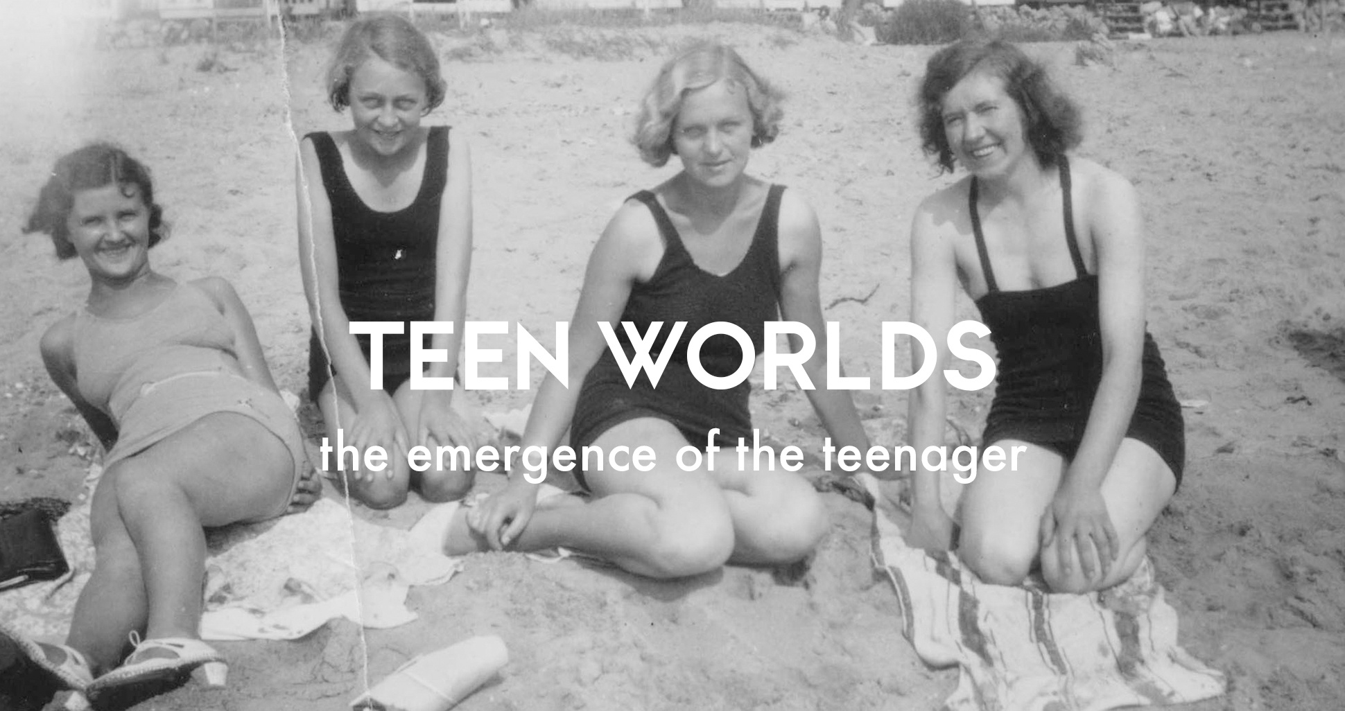 The history of British youth culture: Teen worlds, the emergence of the teenager