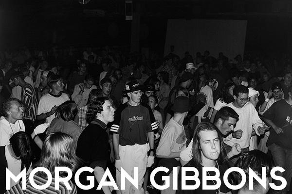 Morgan Gibbons, 1990s Ravers at a Jungle Rave